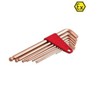 Set chei imbus ATEX cupru-beriliu, 1.5-10mm