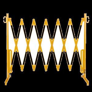 Gard protectie flexibil galben/negru 3600x1050mm