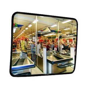 Oglinda industria alimentara INOX HF 45x60cm