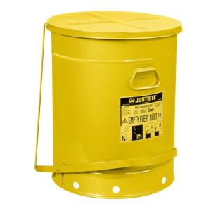 Recipient antifoc colectare lavete uleioase galben 80 litri