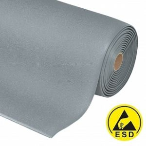 Covor antioboseala ESD Cushion Stat Black-Yellow