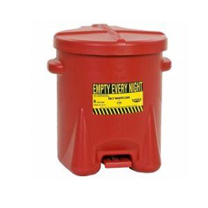 Recipient PE antifoc colectare lavete uleioase 22,8litri