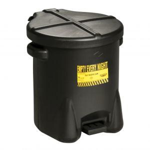Recipient PE antifoc colectare lavete uleioase 37,9litri