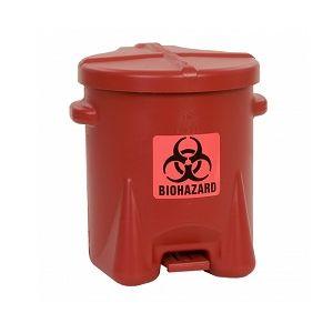 Recipient PE deseuri produse pericol biologic 22,8 litri