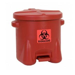 Recipient PE deseuri produse pericol biologic 37,9 litri