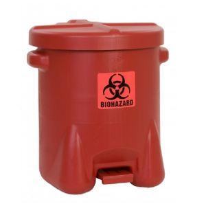 Recipient PE deseuri produse pericol biologic 53 litri