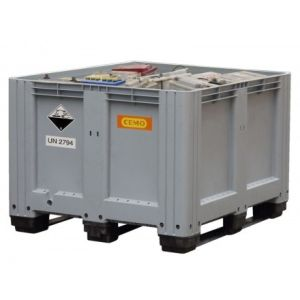 Container depozitare si transport baterii