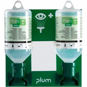 Solutie sterila pentru curatarea ochilor, suport perete 2 recipiente