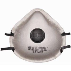 Masca de protectie respiratorie de unica folosinta cu valva MB 40 VS