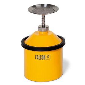 Cana de umectare FALCON din otel, 2.5 litri