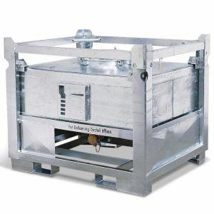 Container ASF colectare si transport lichide periculoase, debarasare inferioara, V=445 litrii