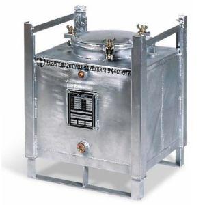 Container ASF colectare si tansport lichide periculoase, perete dublu, V=100 litrii