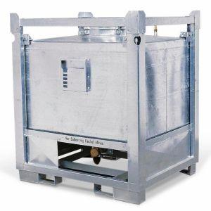 Container ASF colectare si transport lichide periculoase, debarasare inferioara, V=800 litrii