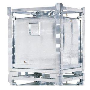 Container ASF colectare si transport lichide periculoase, perete dublu, V=800 litrii