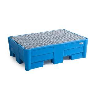 Vana retentie PolySafe PSP 2.2 polietilena albastru cu grilaj zincat