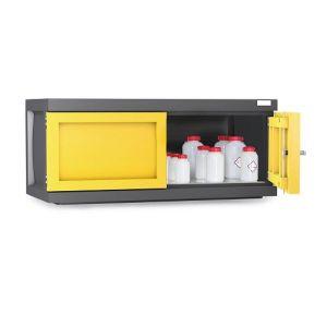 Dulap de depozitare acizi si baze PS 1211-A1, grilaj galvanizat