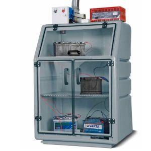 Dulap incarcare baterii litiu din PE culoarea gri