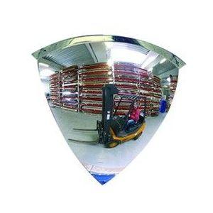 Oglinda rotunda supraveghere 90° acril Ø80cm