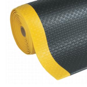 Covor antioboseala Bubble Sof-Tred Black-Yellow