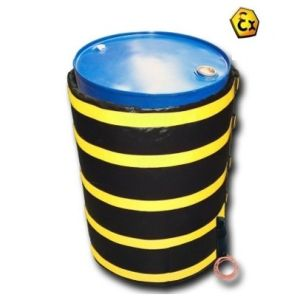 Patura agrementat ATEX incalzire butoaie 200 litrii