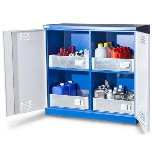 Dulap depozitare substante chimice CS 120-4