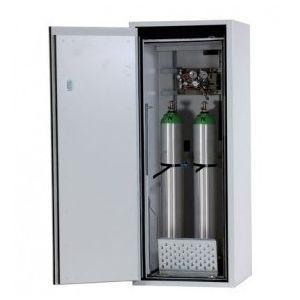 Dulap antifoc 2 butelii gaz 10l, G90.6-10, L=600mm, gri