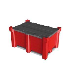 Capac recipient PolyPro, 1200x800mm