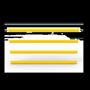 Set 4 bare standard pentru gard anticoliziune flexibil DELTA 4