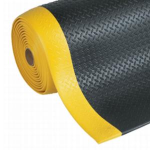 Covor antioboseala Diamond Sof-Tred Black-Yellow