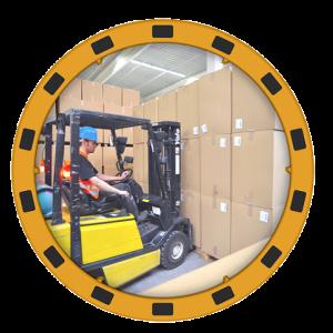 Oglinda verificare productie EUvex Ø60cm