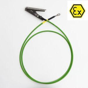 Cablu de impamantare cu 1 cleste, 2m