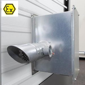 Sistem ventilatie ATEX depozit CH 2.1