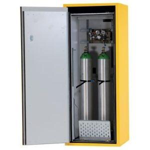 Dulap antifoc 2 butelii gaz 10l, G90.6-10, L=600mm, galben