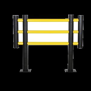 Gard anticoliziune flexibil protectie masini, FOXTROT, 1500 mm