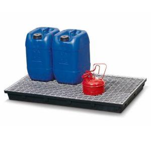 Grilaj zincat pentru cuva de podea KB-R cu volum de 36 litri