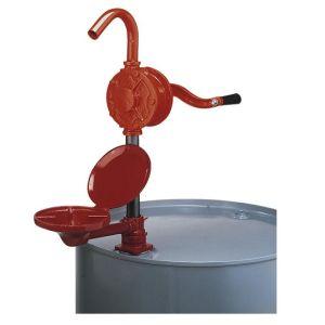 Pompa cu maneta rotativa si brat articulat