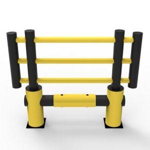 Gard anticoliziune flexibil protectie masini KILO 1500mm