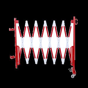 Kit gard flexibil 3600 mm alb/rosu pentru stalp  Ø60mm