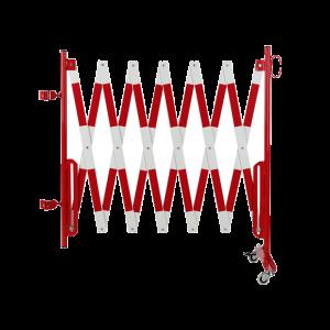 Kit gard flexibil 4000 mm alb/rosu pentru stalp Ø60mm