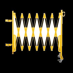Kit gard flexibil 3600 mm galben/negru pentru balustrada