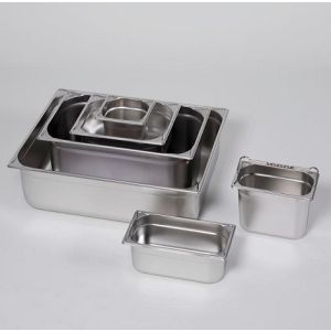 Tava inox GN 1/6-150, 2.2 l