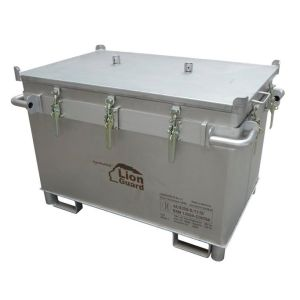 Container inox transport baterii litiu, M-Box X1