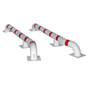 Ghidaj modular prindere in podea alb/rosu