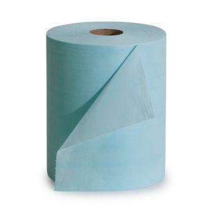 Laveta de curatare rezistenta la solventi, la rola, albastru
