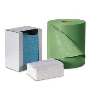 Laveta de curatare rezistenta la solventi, la pachet, alb