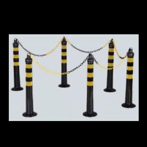 Set 6 stalpi flexibili , 750 mm