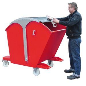 Recipient basculabil otel tip RD 750 litri