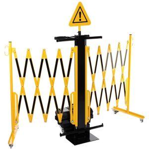 Gard protectie flexibil cu carucior 2x2000x1050mm