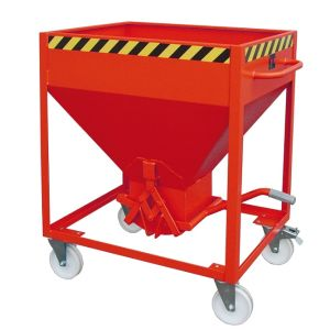 Recipient descarcare otel tip SR 375 litri