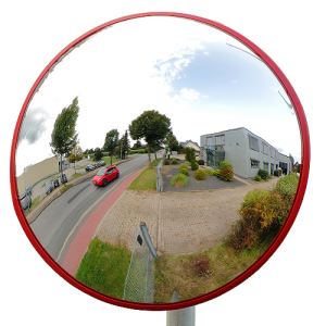 Oglinda trafic subteran policarbonat Ø60cm